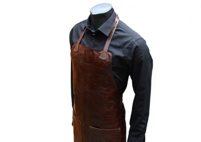 DE BRUIR Leather Catering Apron 13