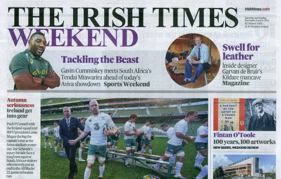 Irish Times Magazine