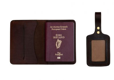 Leather travel accessories Ireland