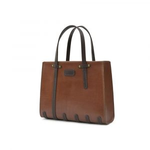 DE-BRUIR Leather Tote Bag Main