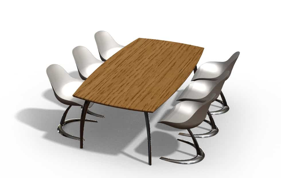 DE BRUIR - Rectangular Table and Chairs 5