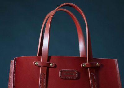 Designer Red Handbag