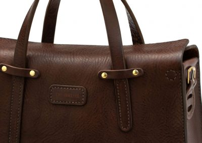 Leather Workbag by DE BRUIR