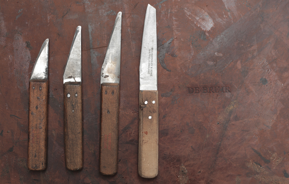 DE BRUIR - Leather Knives