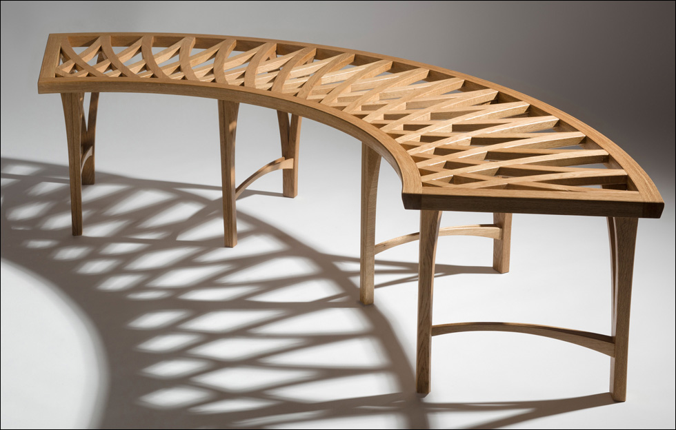 DE BRUIR Arabic Bench 2