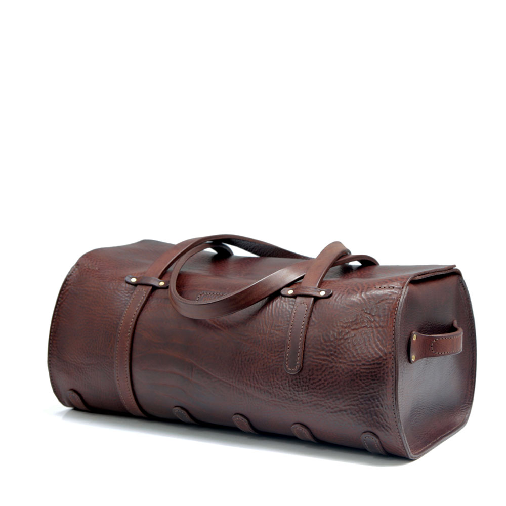 d1eb7ec18 Handmade Leather Duffle Bag | De Bruir Design & Craftsmanship