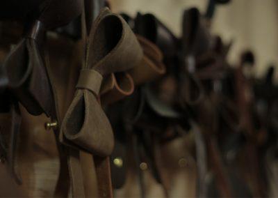DE BRUIR Leather Bow Tie Gallery 11