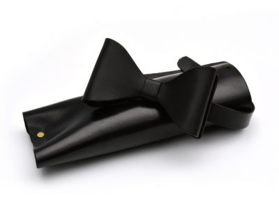 DE BRUIR Leather Bow Tie Gallery 6