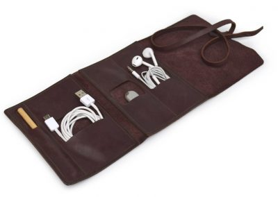 DE BRUIR Leather Cable Pouch 5