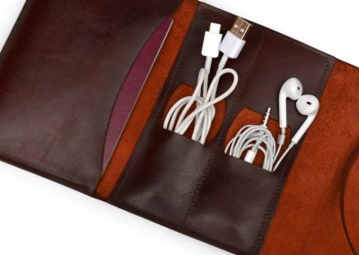 DE BRUIR Leather Cable Pouch 7