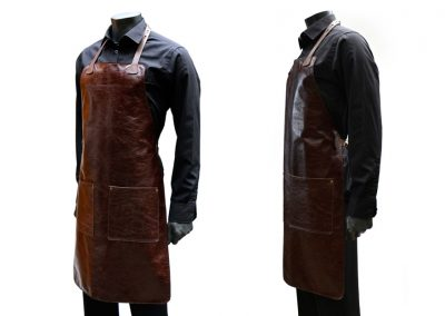 DE BRUIR Leather Catering Apron 3