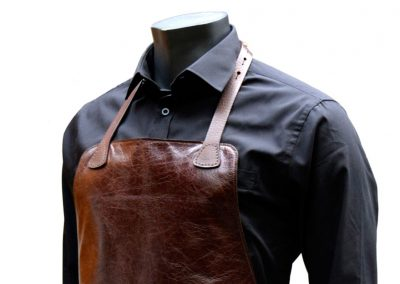 DE BRUIR Leather Catering Apron 4