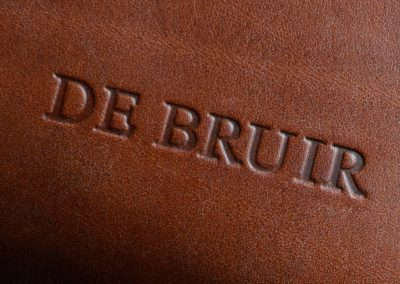 DE BRUIR Leather Folio 5