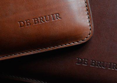 DE BRUIR Leather Folio 6