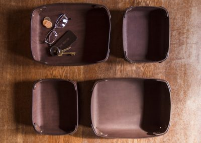 DE BRUIR Leather Home Tray 8