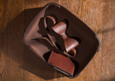 DE BRUIR Leather Home Tray 9