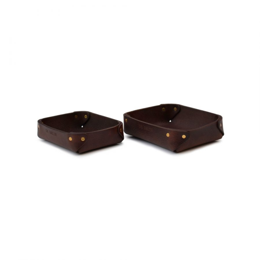 DE BRUIR Leather Tray Main