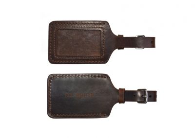 DE BRUIR Leather Luggage Tag Gallery 2