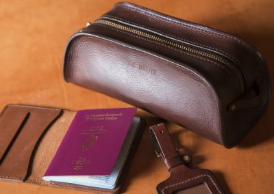 DE BRUIR Leather Luggage Tag Gallery 5