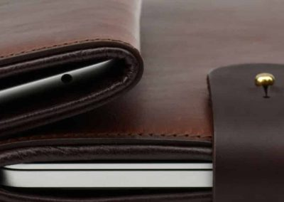 DE BRUIR Leather Macbook 6