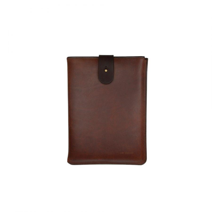 DE BRUIR Leather Macbook Sleeve Main