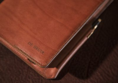 DE BRUIR Leather Notebook 10