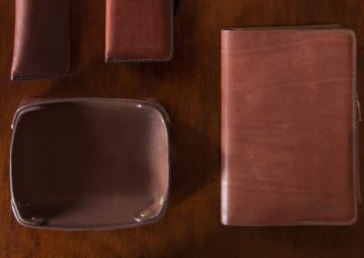 DE BRUIR Leather Notebook 11