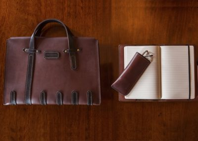 DE BRUIR Leather Notebook 12