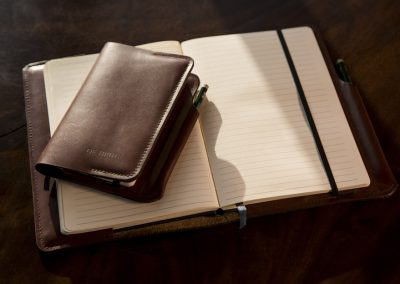 DE BRUIR Leather Notebook 7