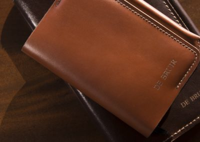 DE BRUIR Leather Notebook 8