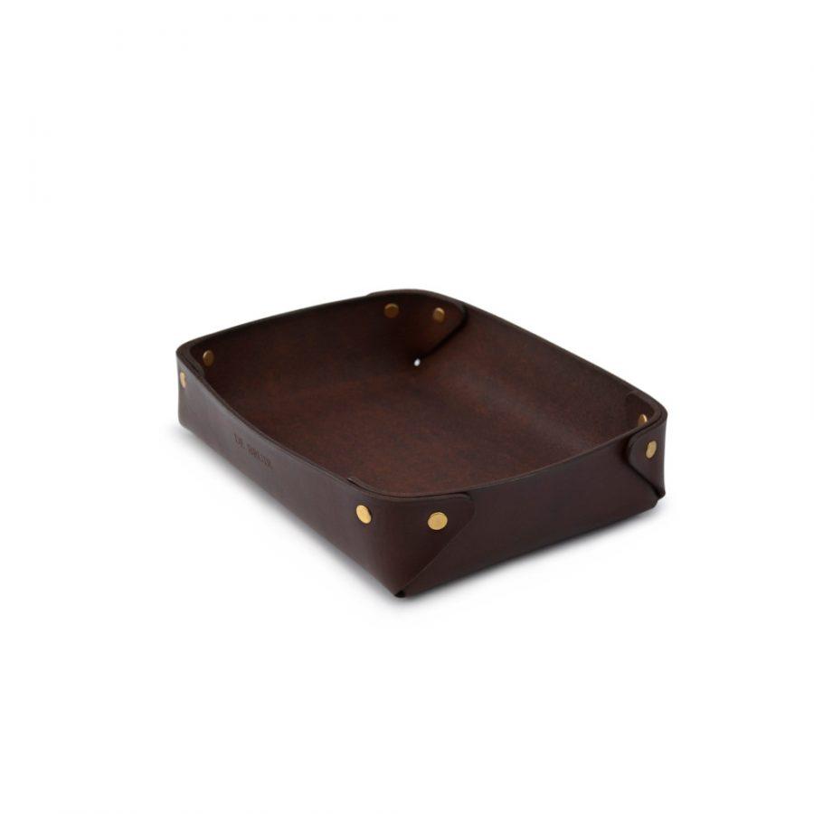 DE BRUIR Leather Desk Tray Main