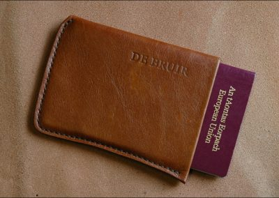 DE BRUIR Leather Passport Cover Gallery 10