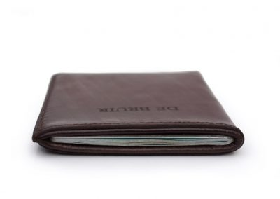 DE BRUIR Leather Passport Cover Gallery 5