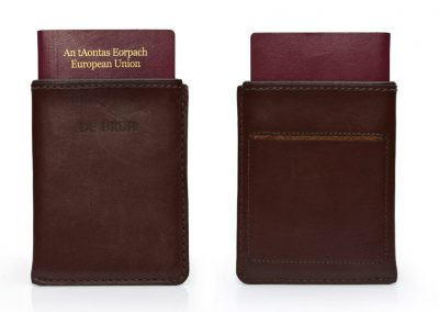 DE BRUIR Leather Passport Cover Gallery 6