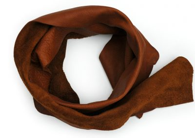 DE BRUIR Leather Scarf Gallery 1