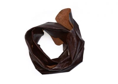 DE BRUIR Leather Scarf Gallery 11