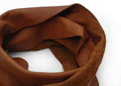 DE BRUIR Leather Scarf Gallery 2