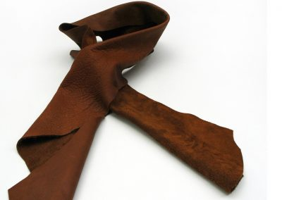 DE BRUIR Leather Scarf Gallery 3
