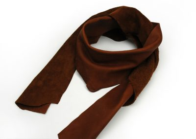 DE BRUIR Leather Scarf Gallery 4