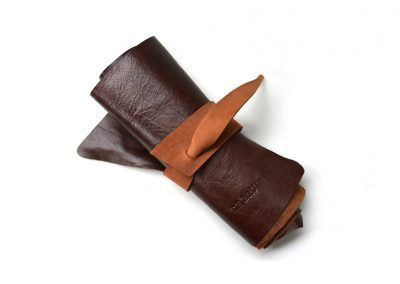 DE BRUIR Leather Scarf Gallery 6