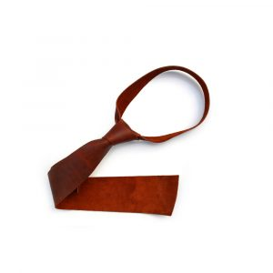 DE BRUIR Leather Tie Main