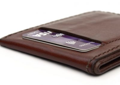 DE BRUIR Leather Wallet Gallery 5