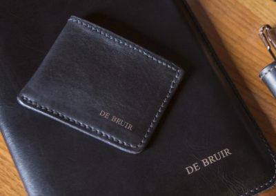DE BRUIR Leather Wallet Gallery 7