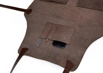 DE BRUIR Leather Workshop Apron Gallery 2