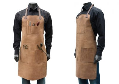 DE BRUIR Leather Workshop Apron Gallery 4