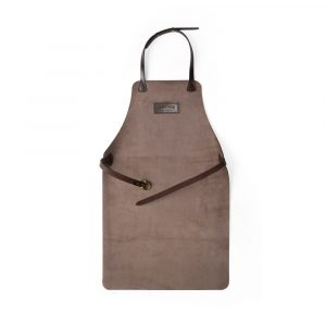 DE BRUIR Leather Workshop Apron Leather Woodworking Apron Main
