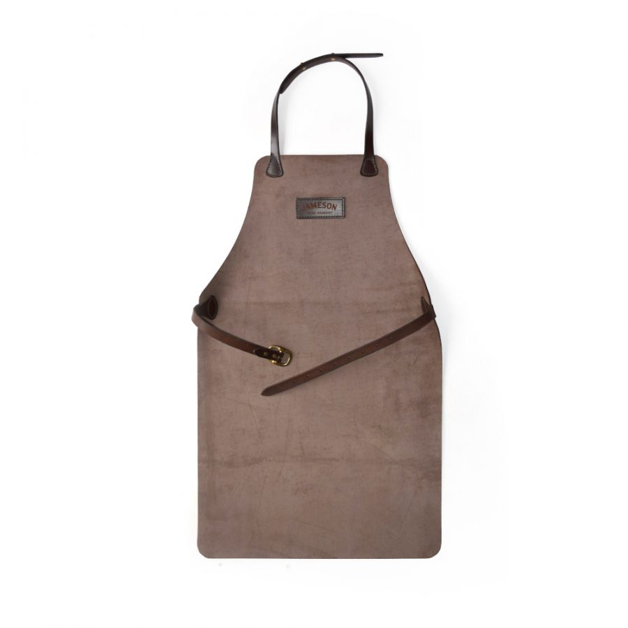 DE BRUIR Leather Workshop Apron Leather Woodworking Apron Main