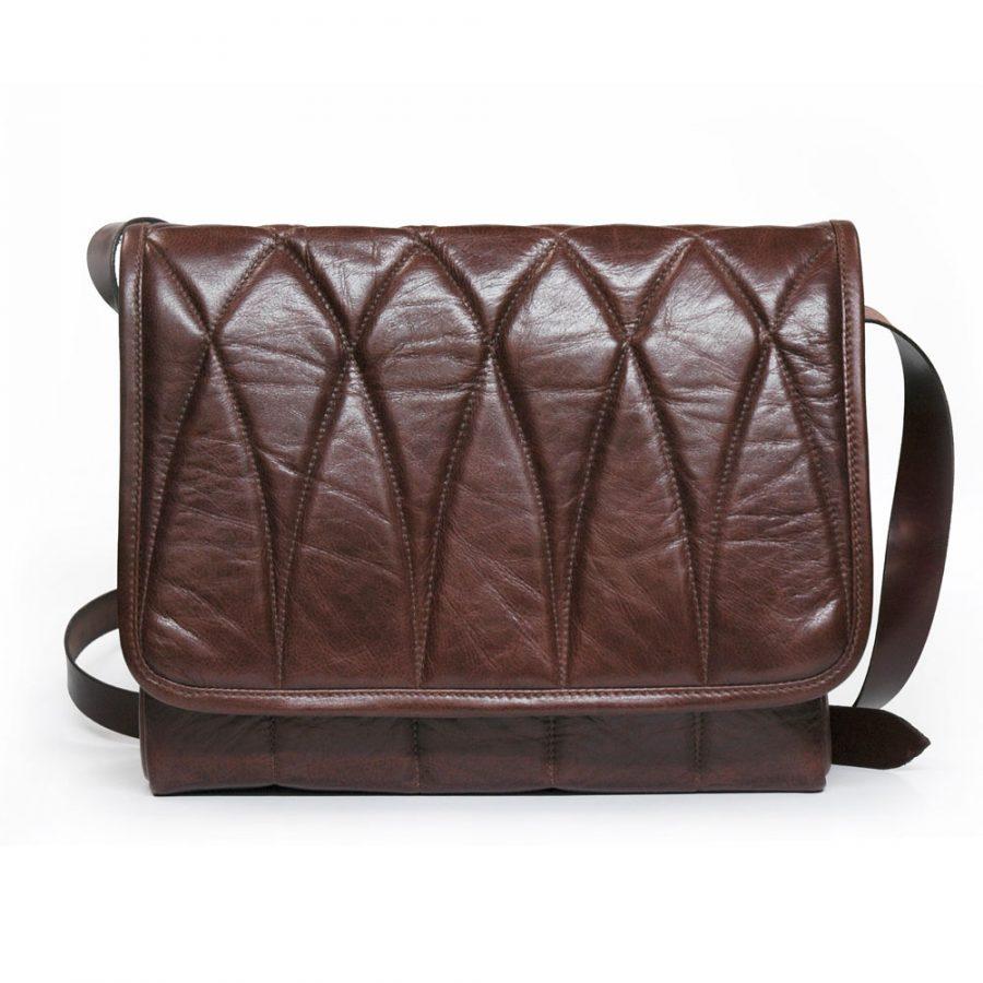 DE-BRUIR---Mens Leather Messenger Bag---Main