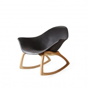 Leather Rocking Chair | De Bruir Design & Craftsmanship Main