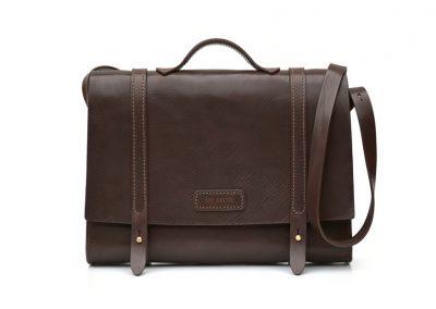 Leather Busiiness Messenger Bag 10
